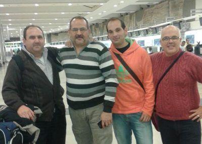 Antonio Marquez, Antonio Barba, Juan Carlos Talavera, y Jose Lucas Morales